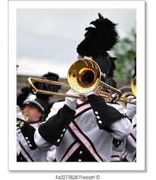 marching band trombone