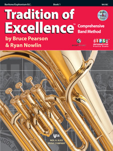 Tradition of Excellence - Book 1 Baritone Bass Clef