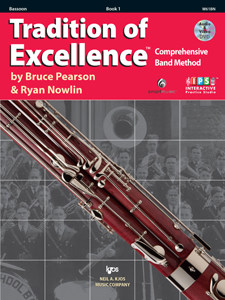 Tradition of Excellence Band Method - Book 1 Bassoon