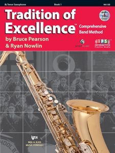Tradition of Excellence - Book 1 Tenor Saxophone