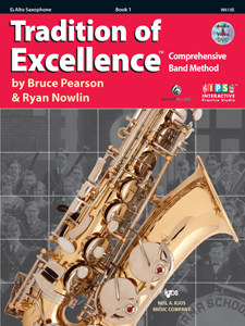 Tradition of Excellence - Book 1 Alto Saxophone