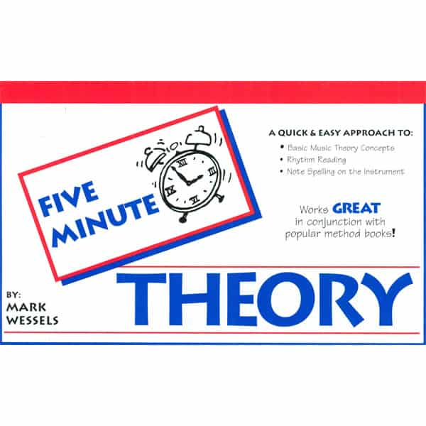 Five Minute Theory Music Books