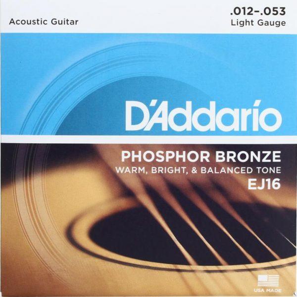 ej16 acoustic guitar strings