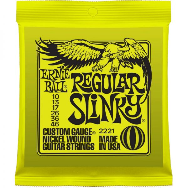 regular slinky guitar strings